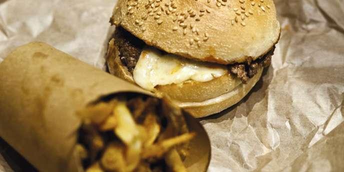 Chez Big Fernand, dans le 9e arrondissement, le hamburger version branchée.