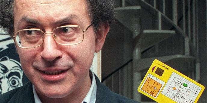 Roland Moreno en 1992.