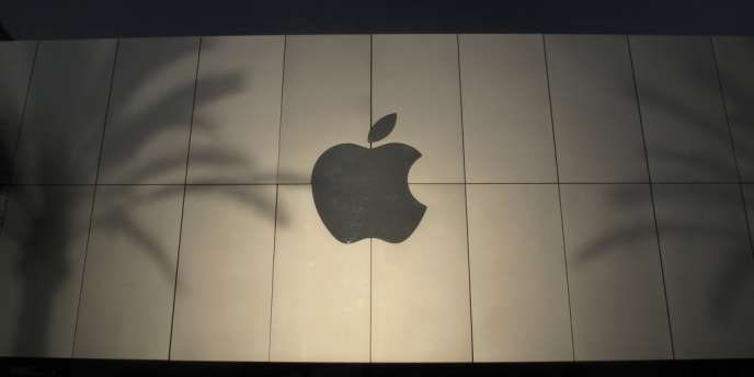 Le logo d'Apple.