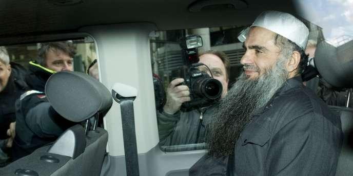 L'islamiste Abou Qatada, le 17 avril 2012.