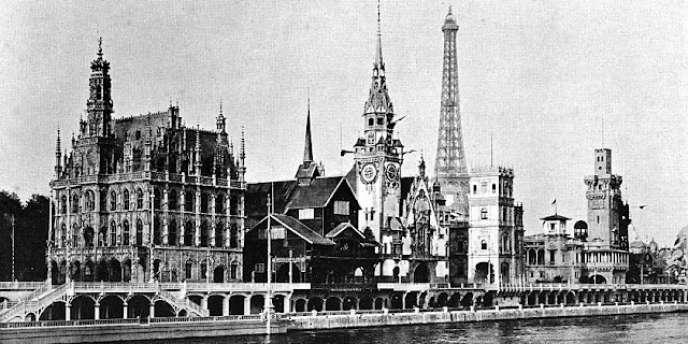 Paris pendant l'exposition universelle de 1900.