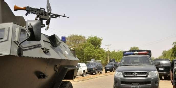 Assaut militaire des forces nigérianes pour éradiquer la secte Boko Haram.