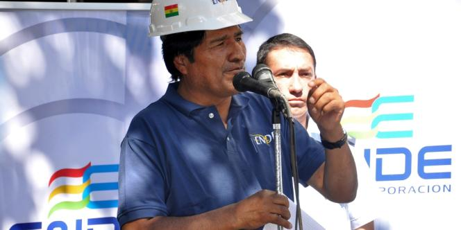 Le président bolivien Evo Morales.