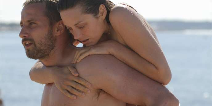Matthias Schoenaerts et Marion Cotillard dans le film français de Jacques Audiard,