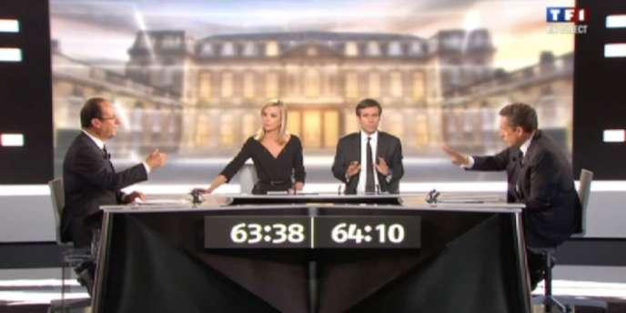 débat entre François Hollande et Nicolas Sarkozy