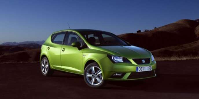 Une Seat Ibiza. En 2011, la marque espagnole a affiché une perte de 232 millions d'euros.