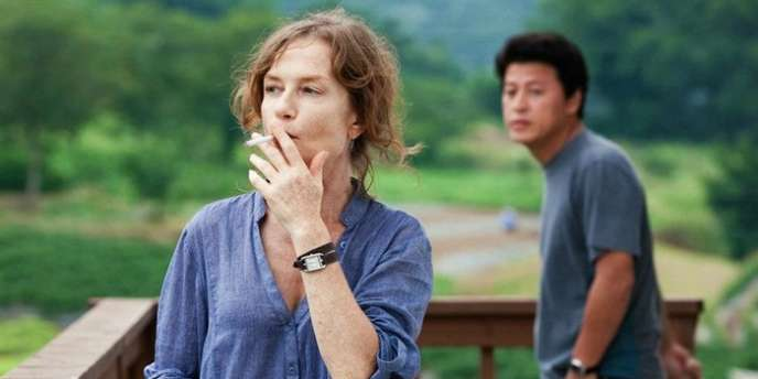 Isabelle Huppert dans le film coréen de Hong Sangsoo,