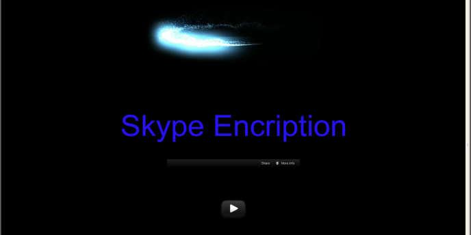 Le site diffusant un faux programme de cryptage pour Skype, à destination des opposants syriens.