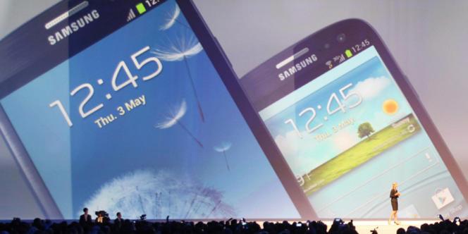Le Galaxy S3, dont la gamme a en grande partie contribué au succès de Samsung dans les smartphones, a été révélé en mai 2012.