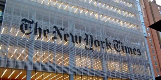 « C'est l'honneur de ma vie, comme accéder au Valhalla», avait commenté Jill Abramson lors de la passation de pouvoir avec Bill Keller au siège du « New York Times», surla VIIIe Avenue, à New York, en 2011.