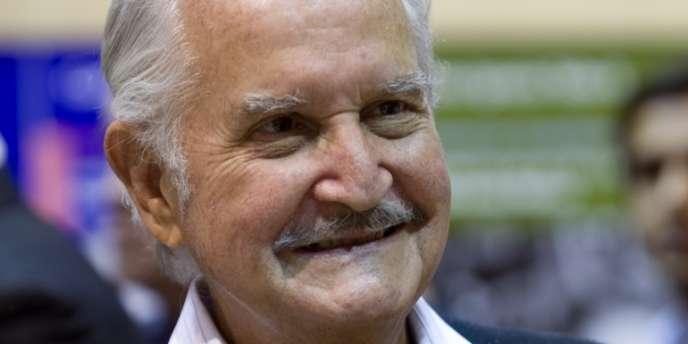 L'écrivain mexicain Carlos Fuentes, en mars 2009 à Paris.