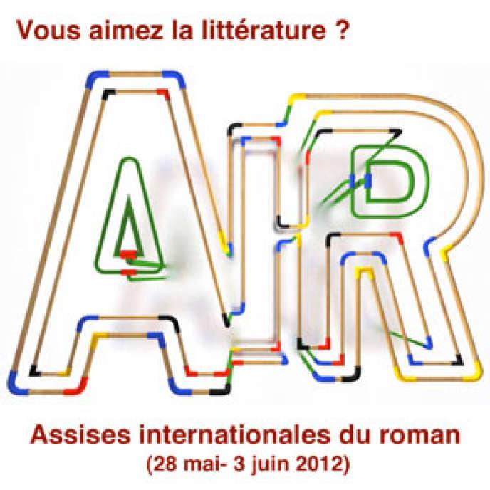 Logo des Assises Internationales du Roman, organisées par