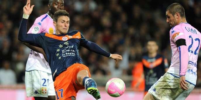Olivier Giroud, le 1er mai à Montpellier.