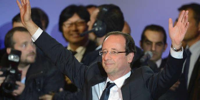 François Hollande, le 7 mai, à Paris.