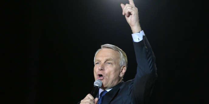 Jean-Marc Ayrault, place de la Bastille à Paris, le 6 mai 2012.