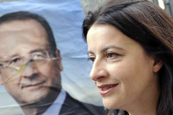 Cécile Duflot, à Paris, lundi 6 mai.