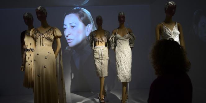 Miuccia Prada lors de l'exposition