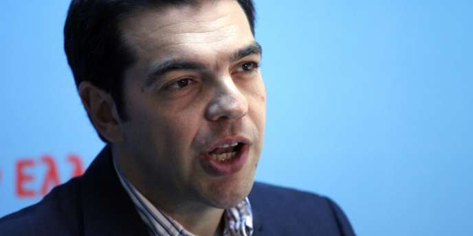Alexis Tsipras à Athènes, le 7 mai 2012.
