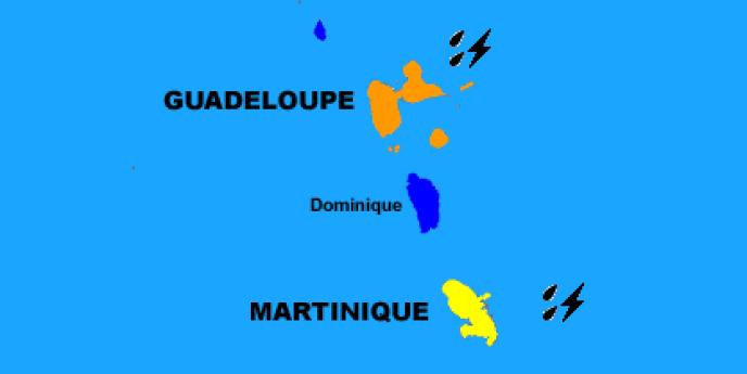 Le niveau de vigilance orange a été déclenché par Météo France à lundi en fin d'après-midi.