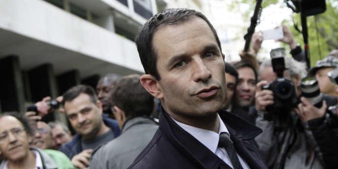 Benoit Hamon le 7 mai 2012.