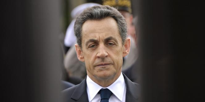 Nicolas Sarkozy, le 8 mai.