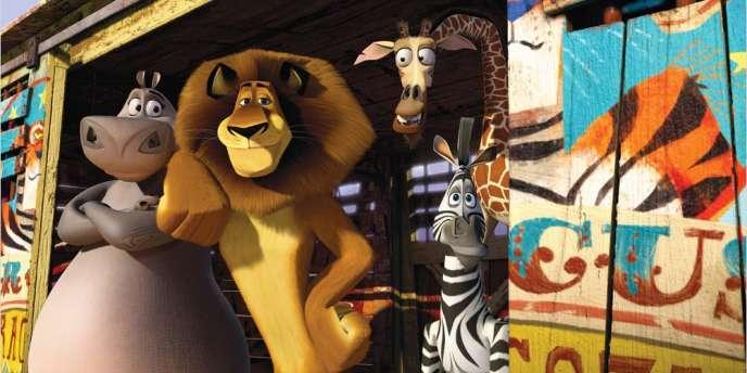 Une image du film d'animation américain d'Eric Darnell, Tom McGrath et Conrad Vernon,