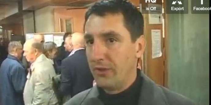 Silvain Pastor, ancien conseiller régional écologiste de  Languedoc Roussillon, à l'origine de la plainte contre la direction d'EELV.