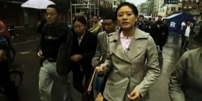 La correspondante d'Al-Jazira en chine, Melissa Chan.