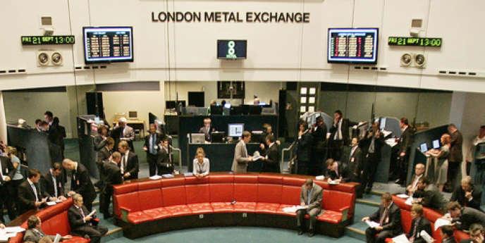 Le London Metal Exchange (LME) est le premier marché au monde des métaux non ferreux.