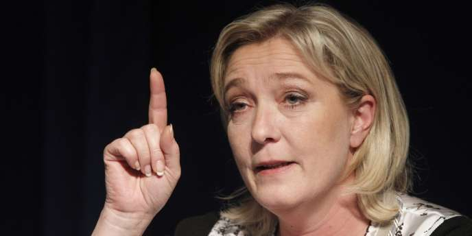 Marine Le Pen, le 2 mai à Paris.