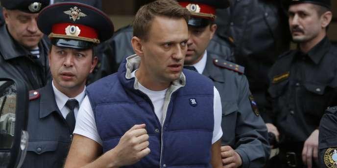 Le blogueur Alexei Navalny, le 9 mai.