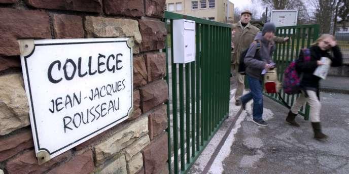 Julien Maraval, proviseur, confie :