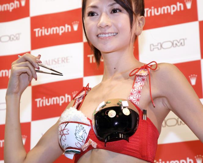 Le soutiens-gorge porte-baguettes de Triumph.