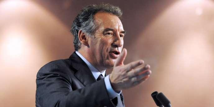François Bayrou, le 10 mai à Paris.