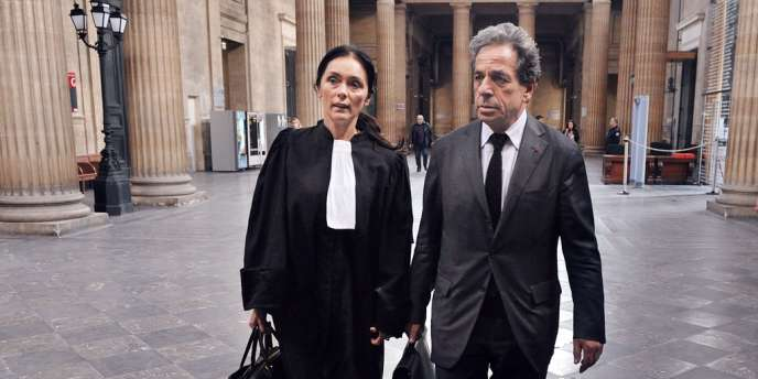 Jacqueline Laffont et Pierre Haik, à Bordeaux, le 23 avril 2012.