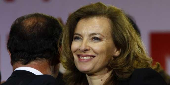 Valérie Trierweiler, le 6 mai 2012.