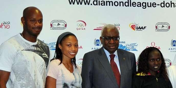 Asafa Powell et Allyson Felix participeront au meeting de Doha.