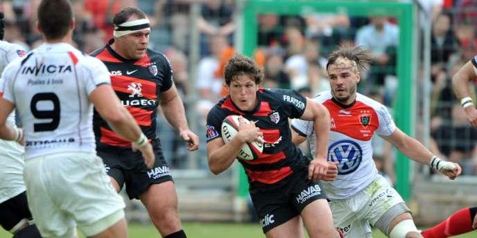 Luke Burgess, le 5 mai à Toulon.