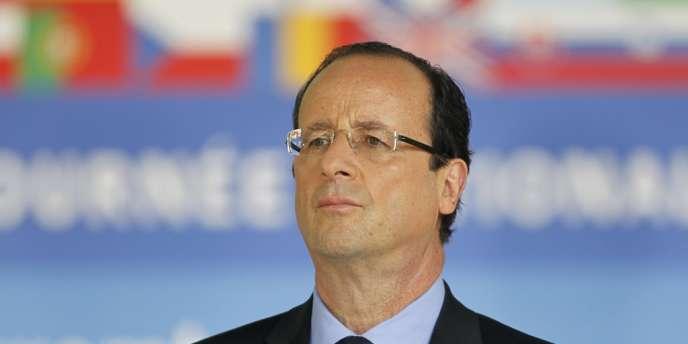 François Hollande, le 10 mai 2012 à Paris.