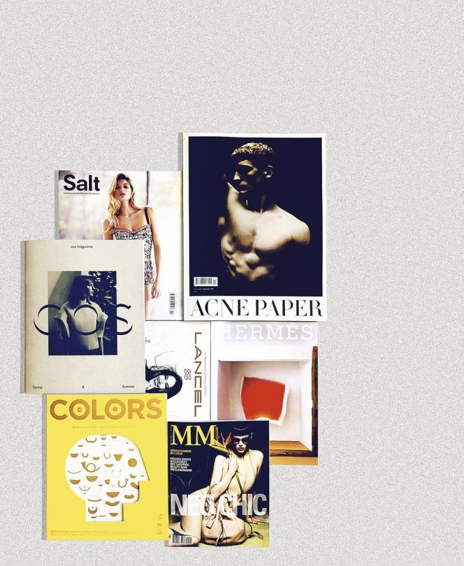 Un échantillon des titres édités par des marques.