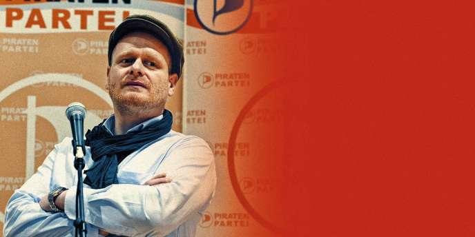 Bernd Schlömer, le nouveau visage du Parti Pirate allemand.