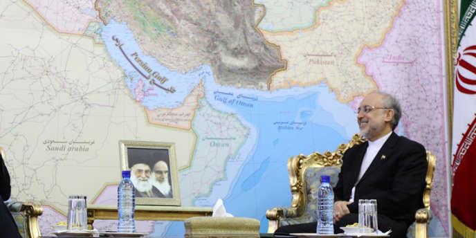 Le ministre iranien des affaires étrangères, Ali Akbar Salehi, le 12 mai à Téhéran.