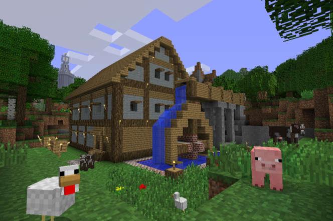 Une capture d'écran de « Minecraft ».