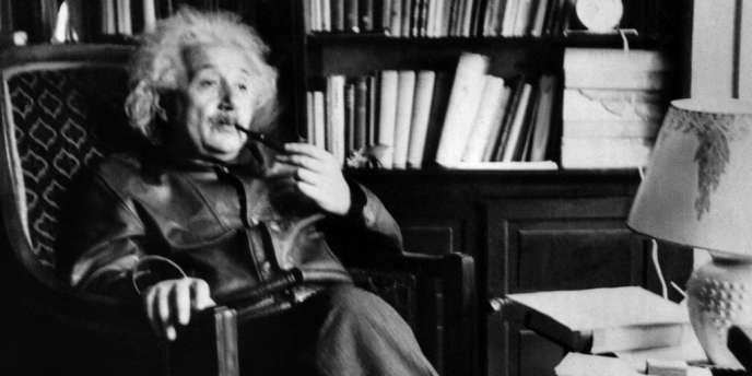 Albert Einstein, le 2 juin 1938.