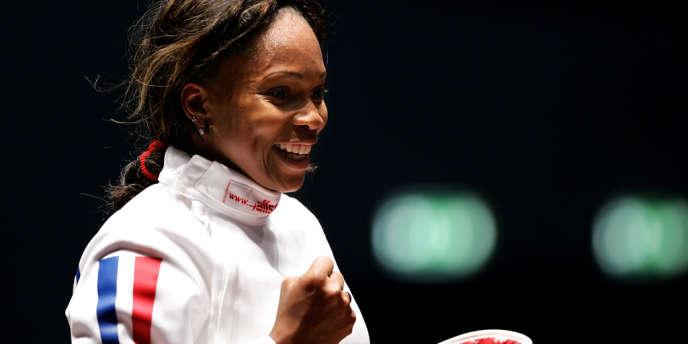 L'épéiste sera le porte-drapeau de la délégation française, à Londres, lors de la cérémonie d'ouverture. A Atlanta, pour ses premiers Jeux olympiques, elle avait remporté deux médailles d'or.