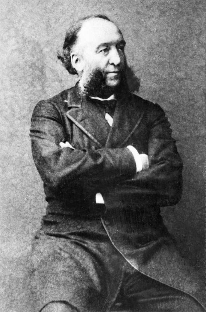 Jules Ferry (1832-1893), ministre de l'instruction et président du Conseil sous la IIIe République.