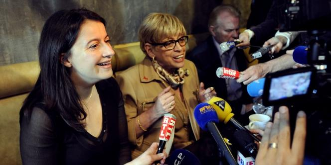 Danièle Hoffman-Rispal, députée socialiste sortante de la 6e circonscription parisienne, s'est rangée derrière la candidature de la secrétaire nationale d'EELV, Cécile Duflot, lundi 14 mai.