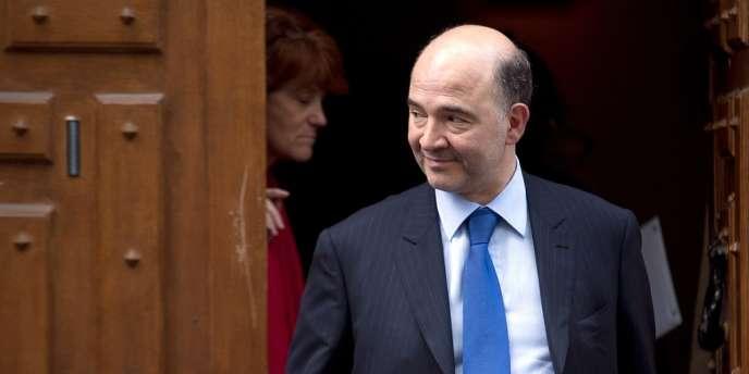 Pierre Moscovici, le 9 mai, à Paris.