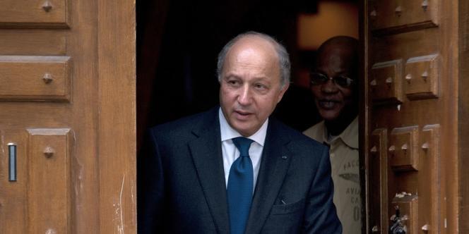 Laurent Fabius, 9 mai 2012.