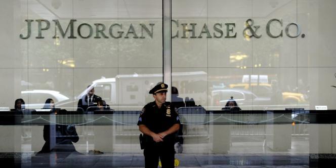 Locaux de JPMorgan Chase à New York.